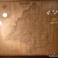 Mapas contemporáneos: PLANO DE MADRID MAPA. Lote 85810492