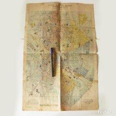 Mapas contemporáneos: PLANO O MAPA. NUEVA GUIA DE MADRID PUBLICADA POR EL NOTICIERO DE MADRID FORMADO POR JOSE MENDEZ 1912. Lote 86201452