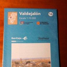 Mapas contemporáneos: MAPAS COMARCALES DE ARAGON - MAPA Nº 16 VALDEJALÓN ESCALA 1:70.000 - SIN ESTRENAR. Lote 86756808