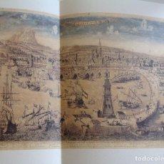 Mapas contemporáneos: VISTAS Y PLANOS DE LA CIUDAD DE BARCELONA DE LOS SIGLOS XIV AL XIX * CARPETILLA 1997 CON 11 VISTAS. Lote 87655912