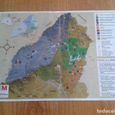 mapa sierra norte de madrid  comunidad de mad  Comprar Mapas