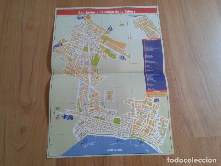 Mapa Callejero San Javier Y Santiago De La Ribera Murcia Mar Menor Concejalia Turismo