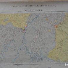 Mapas contemporáneos: MAPA.DOS HERMANAS.SEVILLA.INSTITUTO GEOLOGICO MINERO ESPAÑA.1932?. Lote 92694890
