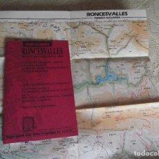 Mapas contemporáneos: RONCESVALLES. PIRINEO DE NAVARRA. GUIA EXCURSIONISTA Y TURISTICA. EDITORIAL ALPINA, 1993. Lote 195049926