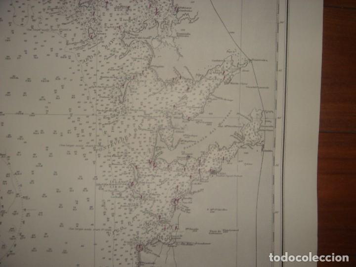 Mapas contemporáneos: CARTA NAÚTICA CABO VILLANO, GALICIA, OPORTO, PORTUGAL, LONDRES, 1958, ALMIRANTAZGO BRITÁNICO - Foto 11 - 94135860
