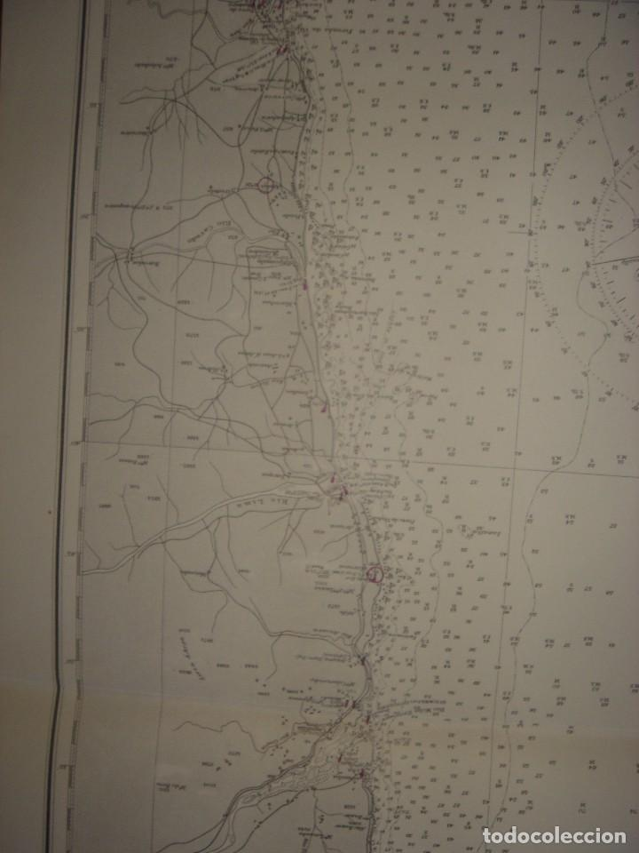 Mapas contemporáneos: CARTA NAÚTICA CABO VILLANO, GALICIA, OPORTO, PORTUGAL, LONDRES, 1958, ALMIRANTAZGO BRITÁNICO - Foto 13 - 94135860