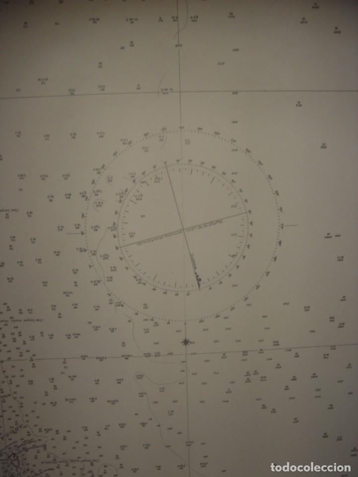 Mapas contemporáneos: CARTA NAÚTICA CABO VILLANO, GALICIA, OPORTO, PORTUGAL, LONDRES, 1958, ALMIRANTAZGO BRITÁNICO - Foto 16 - 94135860