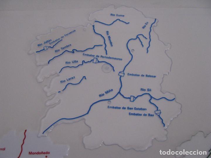 Mapa De Galicia Rios.Plantillas Mapa De Galicia 3 Plantillas Polit Vendido En Venta Directa 94189145