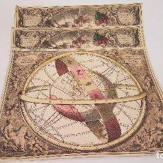 Mapas contemporáneos: 3 MAPAS UNIVERSO SIGLO XVIII ( REPRODUCCION AÑOS 60). Lote 95879779