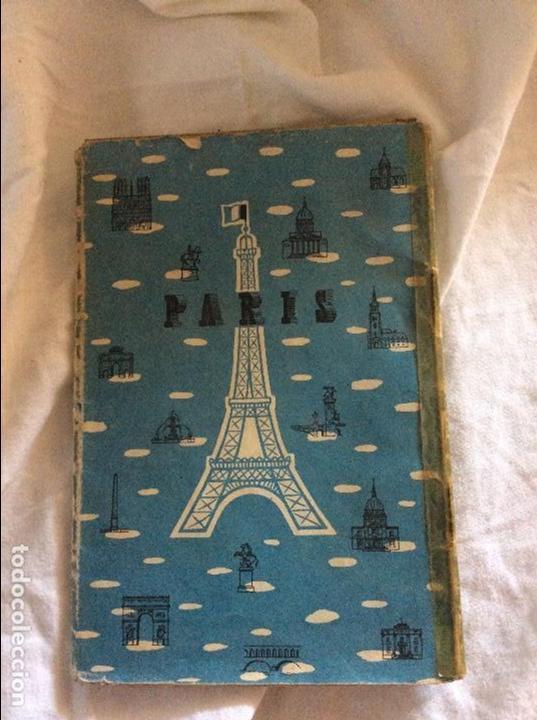 MAPA Y GUIA ANTIGUA DE PARIS (Coleccionismo - Mapas - Mapas actuales (desde siglo XIX))