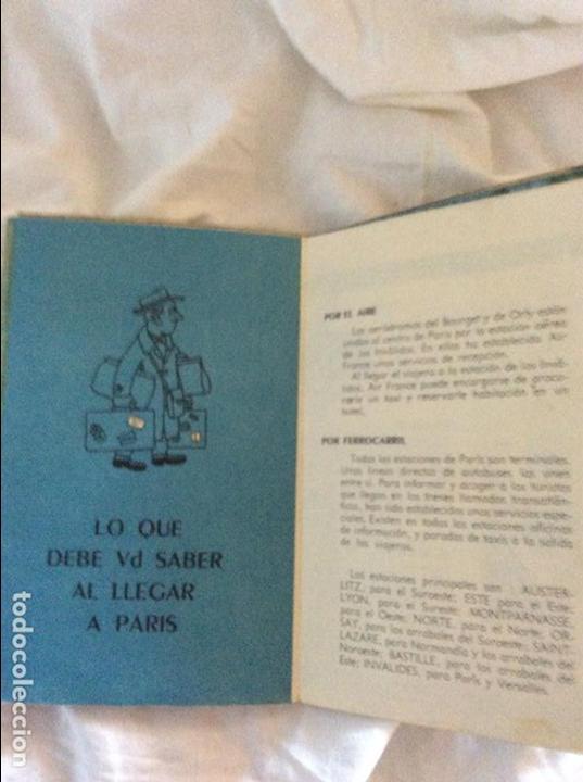 Mapas contemporáneos: MAPA Y GUIA ANTIGUA DE PARIS - Foto 3 - 95996959