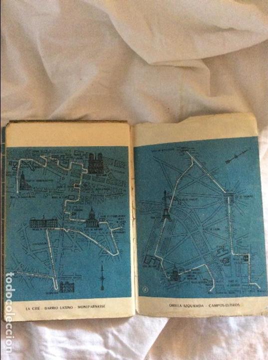 Mapas contemporáneos: MAPA Y GUIA ANTIGUA DE PARIS - Foto 4 - 95996959