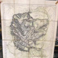 Mapas contemporáneos - Plano mapa Macizo Central Picos de Europa - Año 1935 - Por J. M. Boada y G. Guereta - Casquet - 96882091