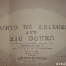 Mapas contemporáneos: CARTA NAÚTICA PUERTOS LEIXOES, VIANA...,FIGUEIRA... , PORTUGAL, LONDRES, 1957,ALMIRANTAZGO BRITÁNICO. Lote 97506063
