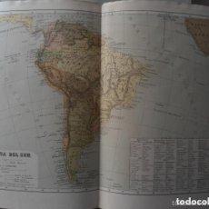 Mapas contemporáneos: ANTIGUO MAPA AMERICA DEL SUR - J.P. MORALES - OTTO NEUSSEL - MEDIADOS SIGLO XIX . Lote 97673163