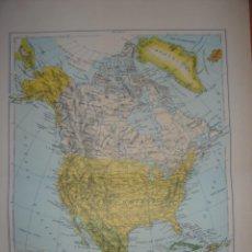 Mapas contemporáneos: LOTE DE 13 MAPAS DEL MUNDO DEL ÚLTIMO CUARTO DEL SIGLO XX. Lote 98484331