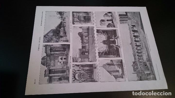 Mapas contemporáneos: LAMINA CROMOLITOGRAFICA ENCICLOPEDIA SEGUI 1905 MAPA PLANO DE CÓRDOBA - DOBLE CARA - Foto 2 - 99233103