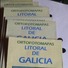 Mapas contemporáneos: ORTOFOTOMAPA. 26 ORTOFOTOMAPAS. LITORAL DE GALICIA.. Lote 99323503