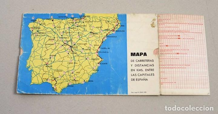 Mapa Distancias Espana Mensajeros De La Paz 197 Buy Contemporary