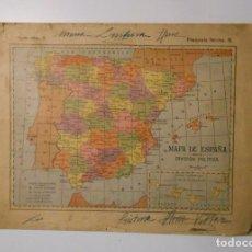 Mapas contemporáneos: LIBRETO DE MAPAS DE ESPAÑA. AÑOS 60? TDKP2. Lote 101925627