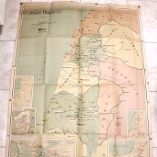 Mapas contemporáneos: GRAN MAPA BÍBLICO. DIFUSORA BÍBLICA. BRAVO MURILLO, 150 (SAN ANTONIO) - MADRID . Lote 102099331