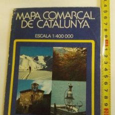 Mapas contemporáneos: MAPA COMARCAL DE CATALUNYA ED. DIÁFORA S.A. Lote 102276471