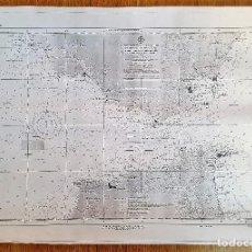 Mapas contemporáneos: MAPA ESTRECHO DE GIBRALTAR 105 ENSEÑANZA 1994 62 X 45 CM INSTITUTO IDROGRAFICO DE MARINA CADIZ COPIA. Lote 102970691
