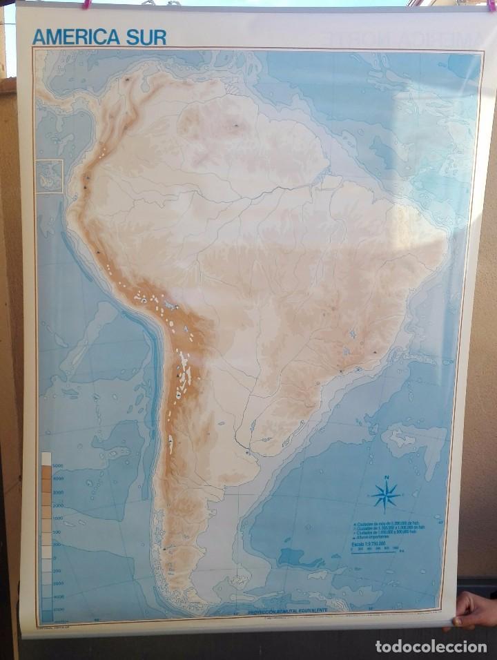 mapa mural colegio america del sur sudamerica c - Comprar Mapas ...