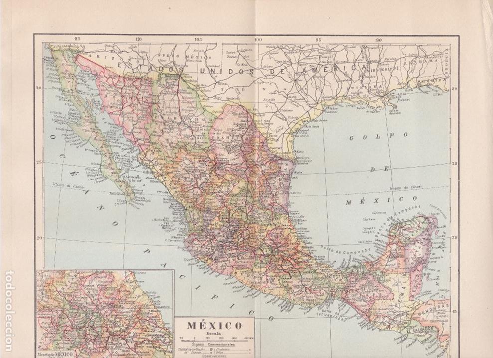 Mejico O Mexico Mapa.Mapa De Mexico Mejico