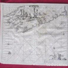 Mapas contemporáneos: ANTIGUO GRABADO DE IRLANDA S.XVIII. Lote 103564835