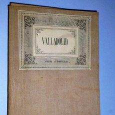 Mapas contemporáneos: ATLAS DE ESPAÑA Y SUS POSESIONES DE ULTRAMAR. PROVINCIA DE VALLADOLID 1852. Lote 103773179