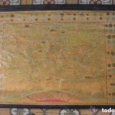 Mapas contemporáneos: EXTRAORDINARIO MAPA-MUNDI PLANISFERIO 1900. Lote 103875243