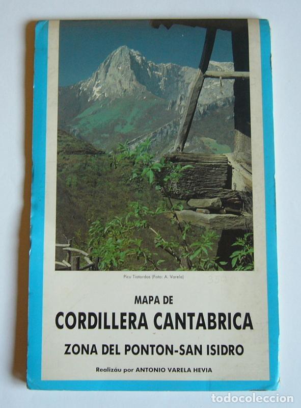 Mapa De Cordillera Cantabrica Zona Del Ponton Buy Contemporary