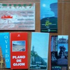 Mapas contemporáneos: LOTE PLANOS ASTURIAS, GUIA, CALLEJERO. Lote 105411148