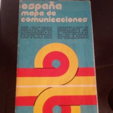 Mapas contemporáneos: MAPA ESPAÑA.1978. Lote 107264543