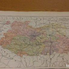Mapas contemporáneos: CIUDAD REAL - MAPA DE LA PROVINCIA - PUBLICADO POR S.A. ANUARIOS BAILLY-BAILLIERE Y RIERA UNIDOS - . Lote 107921319