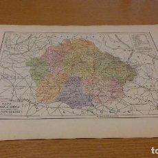 Mapas contemporáneos: CUENCA - MAPA DE LA PROVINCIA - PUBLICADO POR S.A. ANUARIOS BAILLY-BAILLIERE Y RIERA UNIDOS - . Lote 107921415