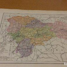 Mapas contemporáneos: GUADALAJARA - MAPA DE LA PROVINCIA - PUBLICADO POR S.A. ANUARIOS BAILLY-BAILLIERE Y RIERA UNIDOS - . Lote 107922971