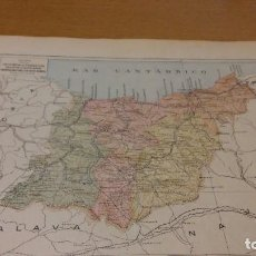 Mapas contemporáneos: GUIPUZCOA - MAPA DE LA PROVINCIA - PUBLICADO POR S.A. ANUARIOS BAILLY-BAILLIERE Y RIERA UNIDOS - . Lote 107923631