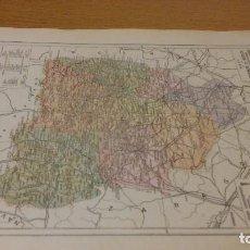 Mapas contemporáneos: HUESCA - MAPA DE LA PROVINCIA - PUBLICADO POR S.A. ANUARIOS BAILLY-BAILLIERE Y RIERA UNIDOS - . Lote 107924179