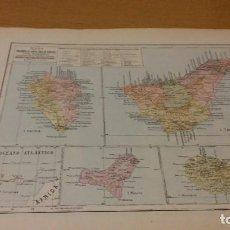 Mapas contemporáneos: TENERIFE - MAPA DE LA PROVINCIA - PUBLICADO POR S.A. ANUARIOS BAILLY-BAILLIERE Y RIERA UNIDOS - . Lote 160112068