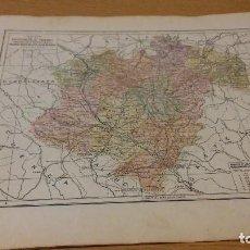 Mapas contemporáneos: TERUEL - MAPA DE LA PROVINCIA - PUBLICADO POR S.A. ANUARIOS BAILLY-BAILLIERE Y RIERA UNIDOS - . Lote 107925719