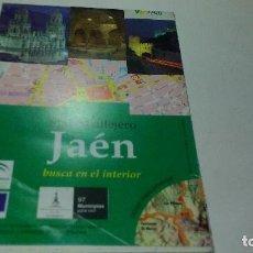 Mapas contemporáneos: PLANO CALLEJERO JAEN. Lote 110079095