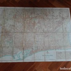 Mapas contemporáneos: AJUNTAMENT DE BARCELONA PLA DE LA CIUTAT, BARCELONA ESCALA 1:10000. ANY 1935. ENTELADO 117X84 CM. Lote 111335411