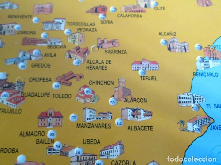 Mapa De Espana Para Mirara La Distancia Ente Sold Through
