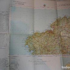 Mapas contemporáneos: LA CORUÑA.MAPA MILITAR.EJERCITO ESPAÑOL.ESCALA 1:400.MAPAS.GEOGRAFIA.1989. Lote 112515451