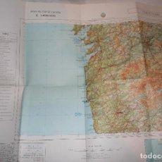 Mapas contemporáneos: ORENSE.MAPA MILITAR.EJERCITO ESPAÑOL.ESCALA 1:400.MAPAS.GEOGRAFIA.1989. Lote 112515543