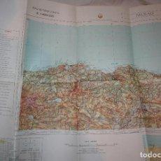 Mapas contemporáneos: BILBAO.MAPA MILITAR.EJERCITO ESPAÑOL.ESCALA 1:400.MAPAS.GEOGRAFIA.1989. Lote 112515623