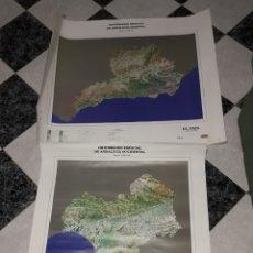 Mapas contemporáneos: LOTE 2 MAPAS ANDALUCIA. Lote 112814796