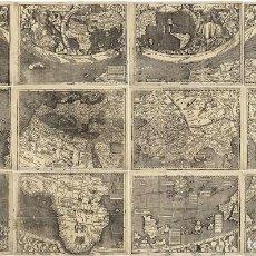 Mapas contemporáneos: WALDSEEMÜLLER 1507 - MAPA GIGANTE (2,4METROS) IDEAL DECORACIÓN NÁUTICA RESTAURANTE HOTEL . Lote 113060707